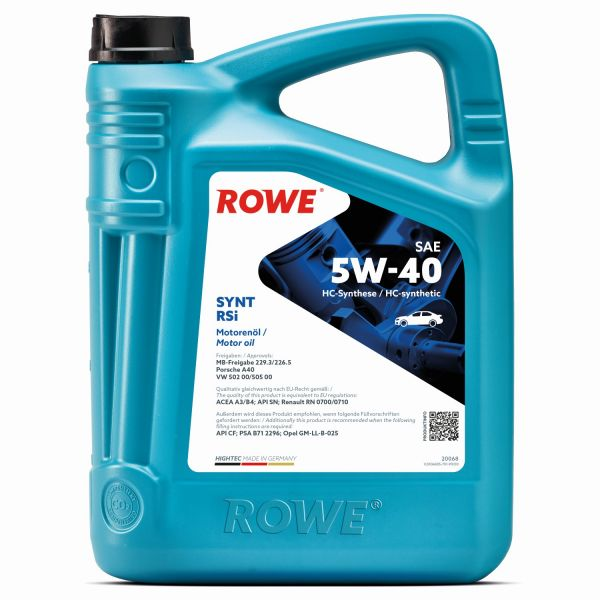 ROWE Synt RS 5W-40i