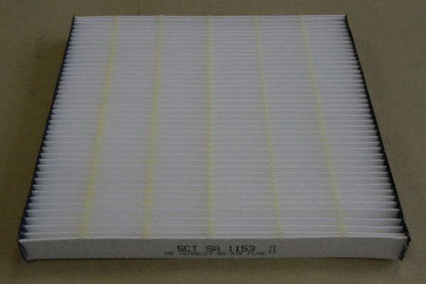 Pollenfilter/ Innenraumfilter SA 1153 von SCT Germany