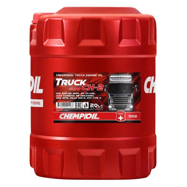 20 (1x20) Liter CHEMPIOIL TRUCK SHPD CH-2 SAE 20W-50 Motoröl