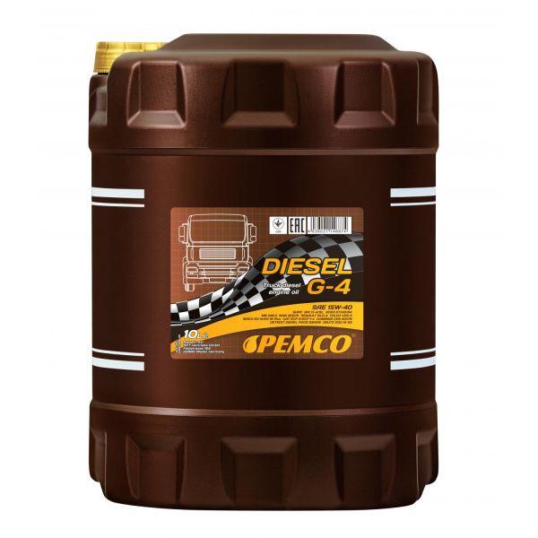PEMCO SAE 15W-40 Diesel G-4 SHPD