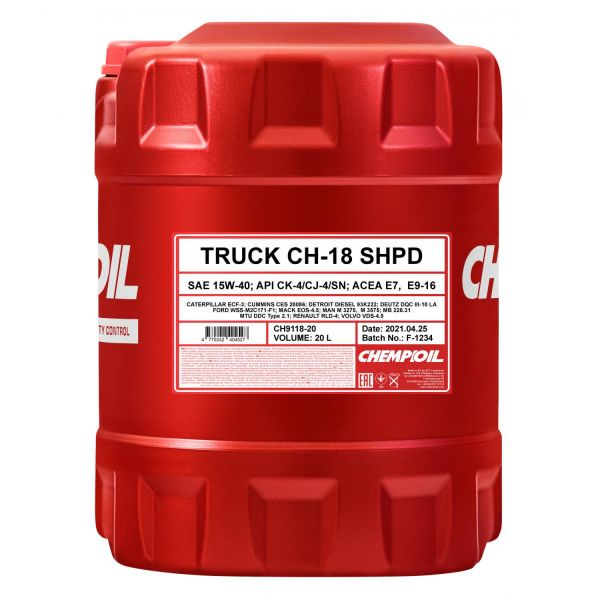 CHEMPIOIL CH-18 TRUCK SHPD 15W-40 Motorenöl