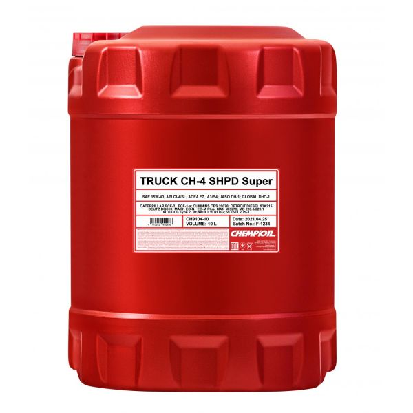 Chempioil 15W-40 TRUCK Super SHPD CH-4, Motoröl
