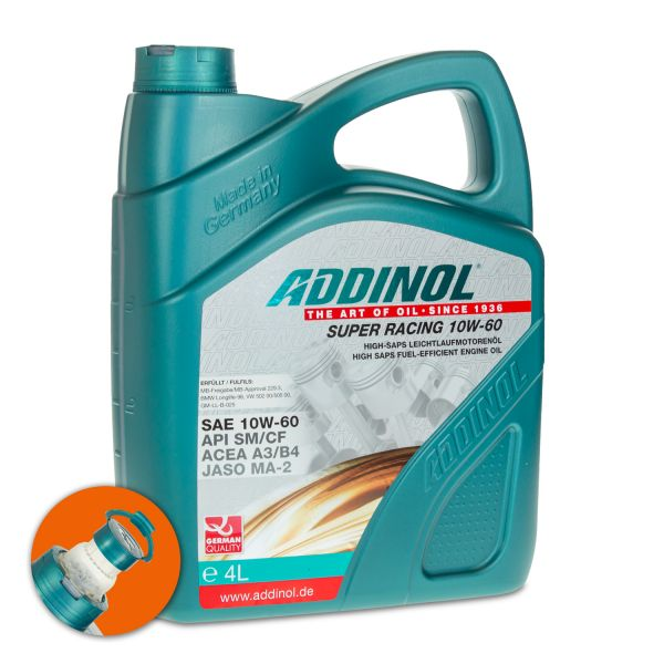 4 (1x4) Liter ADDINOL SAE 10W-60 Super Racing
