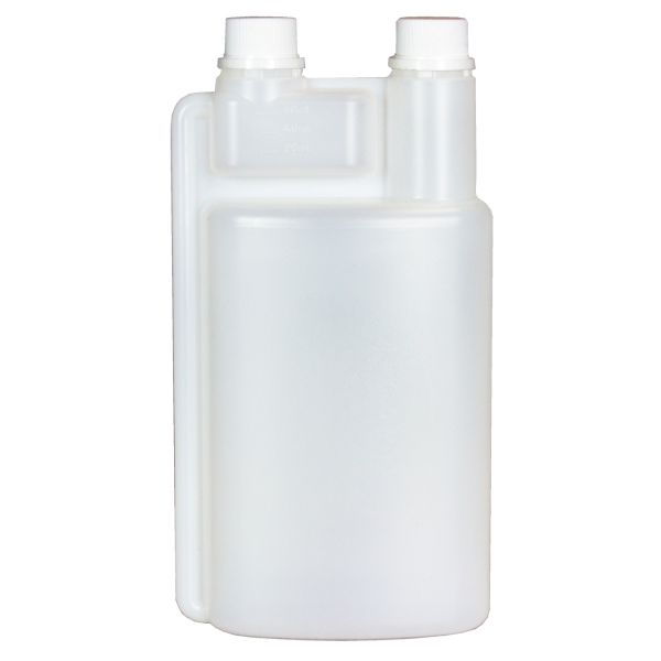Dosierflasche 1000ml Zweihals für Chemikalien