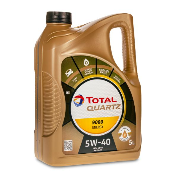 5 (1x5) Liter TOTAL QUARTZ 9000 ENERGY 5W-40 Motoröl