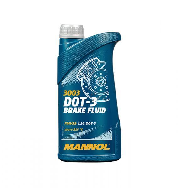 Mannol Brake Fluid DOT 3 Bremsflüssigkeit, 500ml