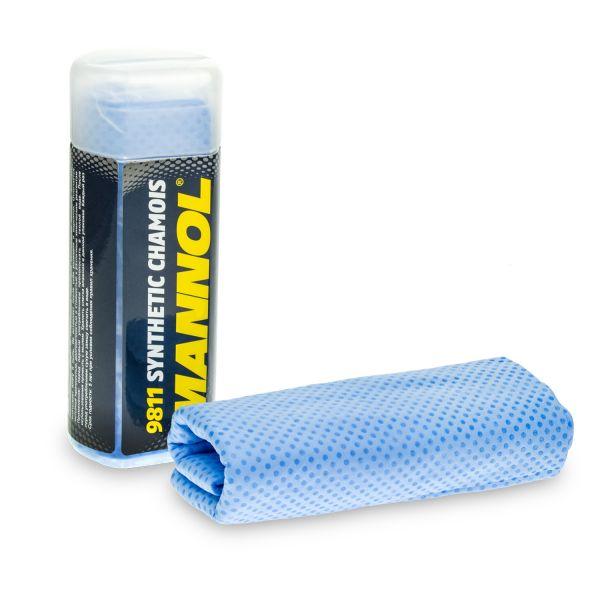1 Stk MANNOL 9811 Synthetic Chamois Fahrzeugwäsche Kunstledertuch, Poliertuch