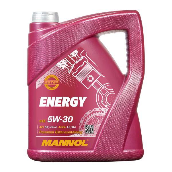 5 (1x5) Liter MANNOL 5W-30 Energy teilsynthetisches Motoröl