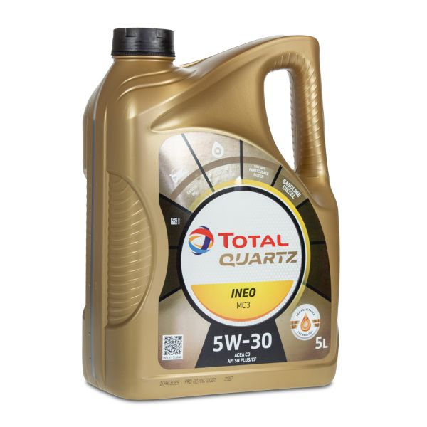 TOTAL QUARTZ INEO MC3 5W-30 Motoröl, 5 Liter