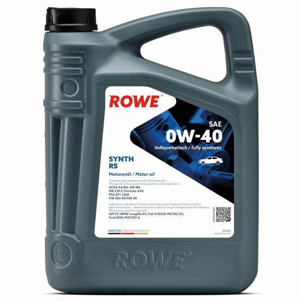 ROWE SYNT RS 0W-40