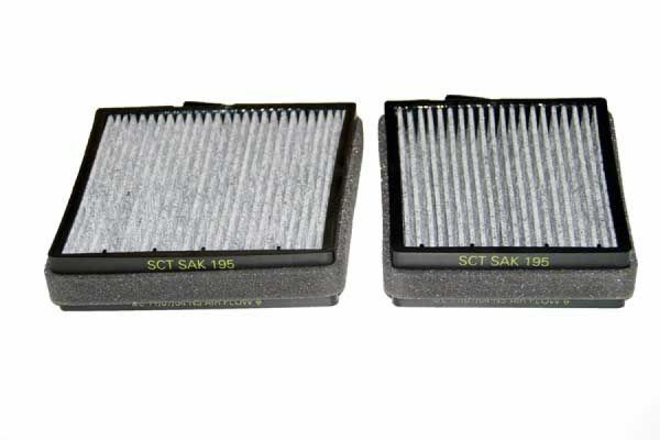 Innenraum-/ Aktivkohlefilter Set SAK 195 von SCT Germany