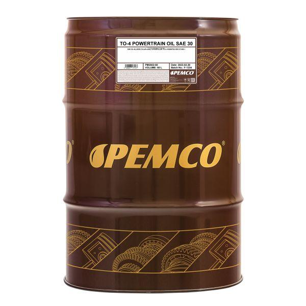 PEMCO TO-4 Powertrain Oil SAE 30
