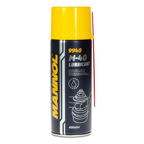 MANNOL 9940 M-40 Lubricant Spray Multifunktionskriechöl, 400ml