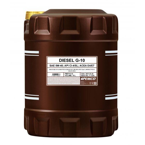 PEMCO DIESEL G-10 UHPD 5W-40