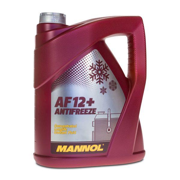 5 (1x5) Liter MANNOL Longlife Antifreeze AF12+ Kühlerfrostschutz Konzentrat rot