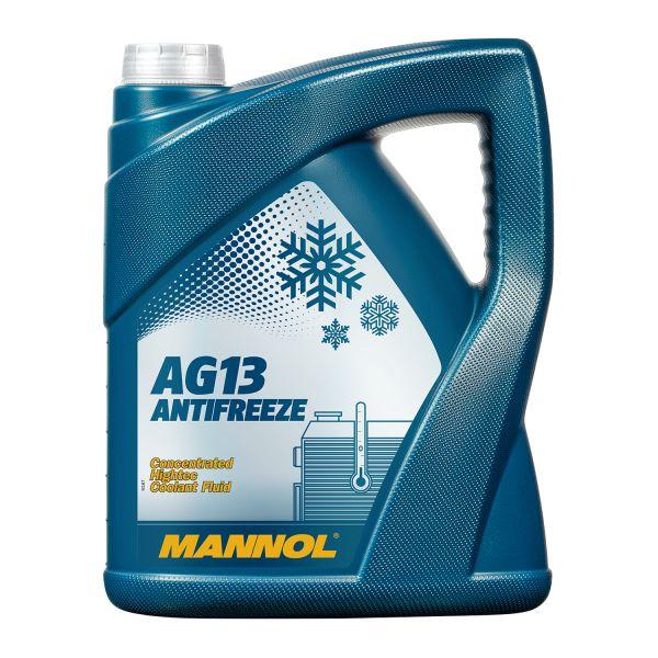 5 (1x5) Liter MANNOL Hightec Antifreeze AG13 Kühlerfrostschutz-Konzentrat grün