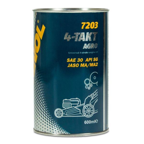 MANNOL 4-Takt Agro SAE 30 Rasenmäheröl, Maschinenöl
