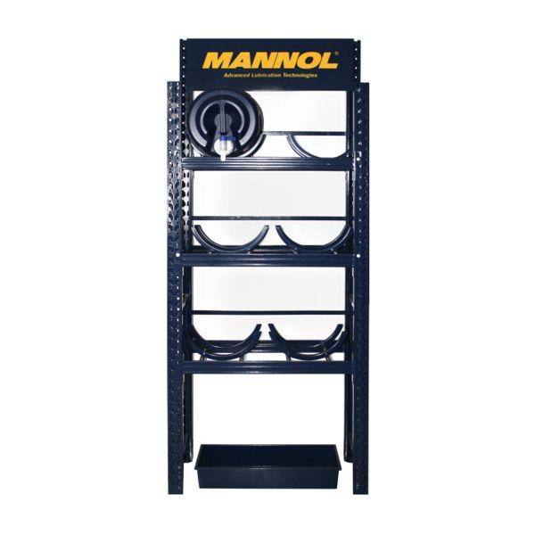 1 Stück MANNOL MN1513 Drum Storage Rack/ Regalsystem für 6x20Liter Kanister