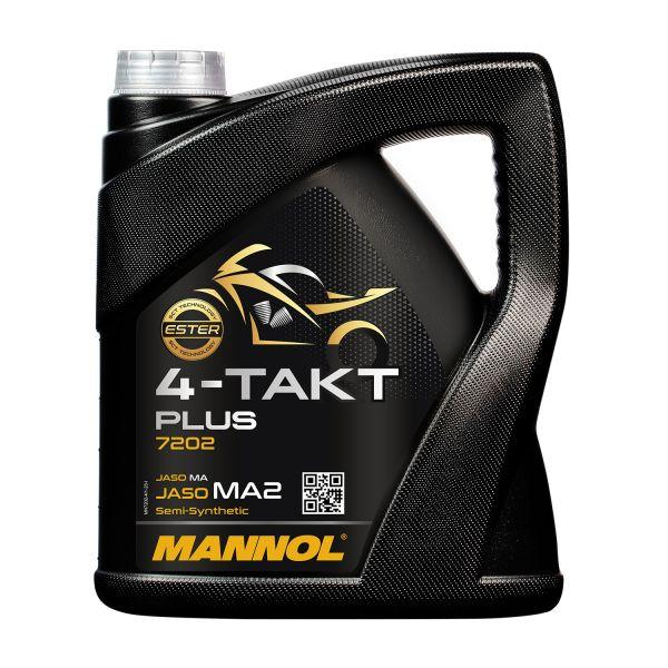 MANNOL 4-Takt Plus - synthetisches Motorradöl