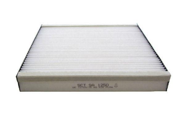 Pollenfilter/ Innenraumfilter SA 1250 von SCT Germany