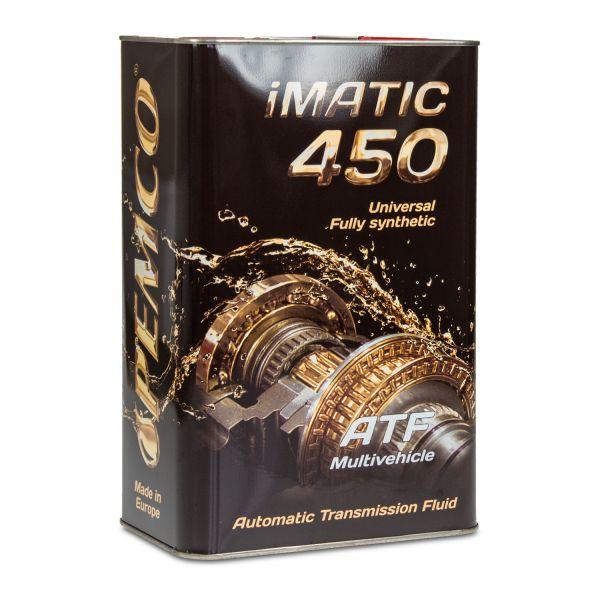 4 (1x4) Liter PEMCO iMATIC 450 ATF JWS Multivehicle Automatikgetriebeöl