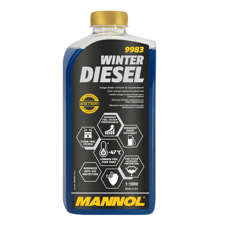 1 liter mannol winter diesel additiv winterdiesel flie verbesserer zusatz ebay. Black Bedroom Furniture Sets. Home Design Ideas